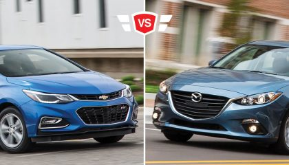 mazda 3 vs chevy cruze