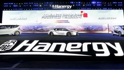 The Hanergy Solar R is an exciting solar sports car