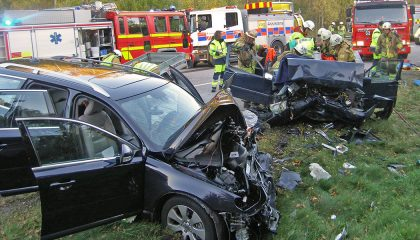 A car crash shows the need for reliable automotive safety innovation