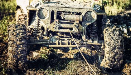 Off-road vehicle recovery tips
