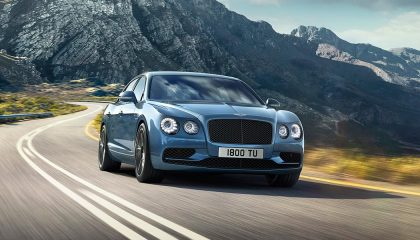 A Bentley Flying Spur W12