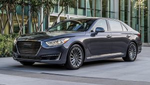 A Genesis G90 - the new luxury offering from Hyundai