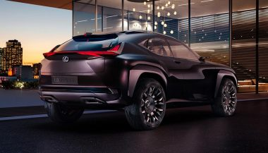 A Lexus UX subcompact crossover