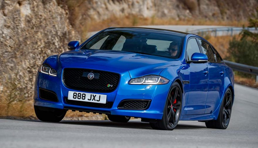 The Jaguar XJR575 is one of the best performance luxury cars