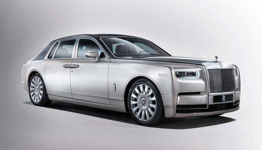 The Rolls-Royce Phantom is one of the best performance luxury cars