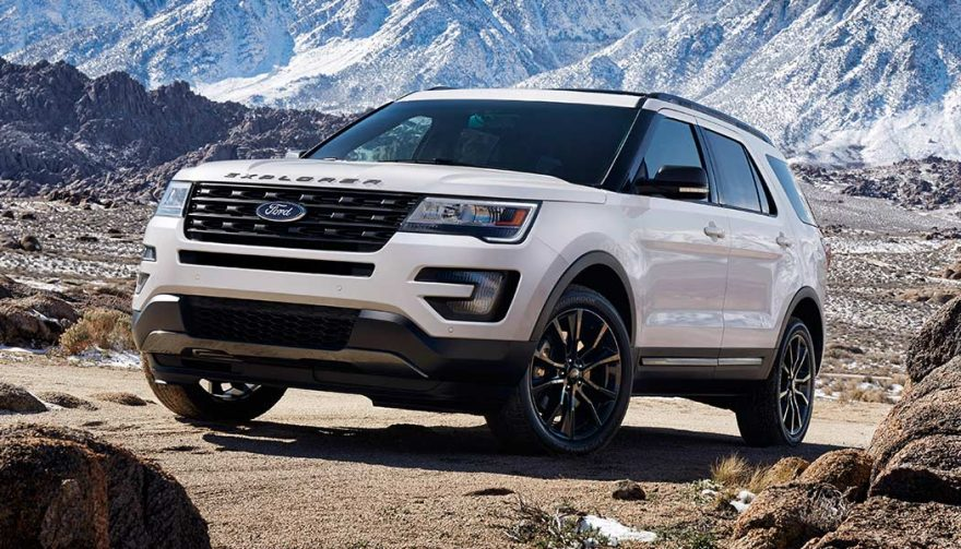 A 2017 Ford Explorer is rugged and refined.