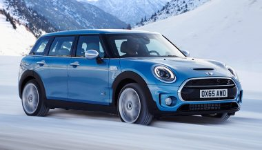 A 2017 Mini Clubman is the largest Mini ever made.