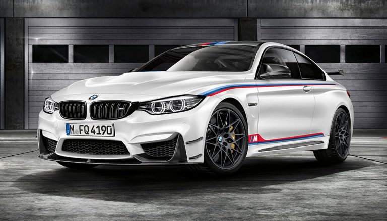 The BMW M4 DTM Champion Edition is a track-focused collector's item.