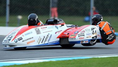 The BMW 44-Racing LCR motorcycle sidecar.