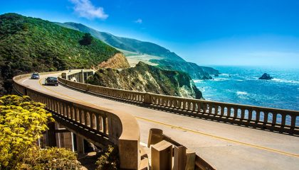 Crossing Bixby bridge shows why California Highway 1 is a dream motorcycle vacation.