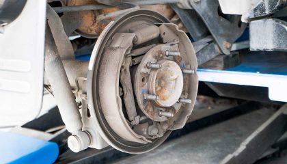 Drum brakes repair