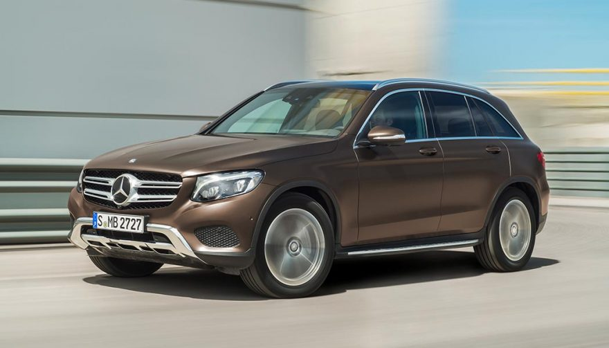 A 2017 Mercedes-Benz GLC-Class SUV of the year