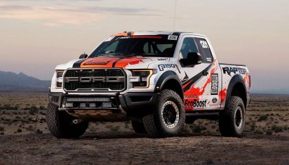 A new truck, like the F150 Raptor, are exciting vehicles