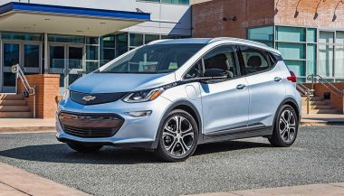A 2017 Chevy Bolt EV