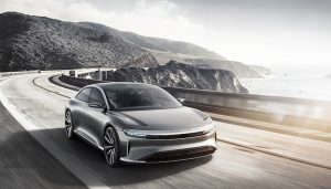 The Lucid Motors Air electric sedan