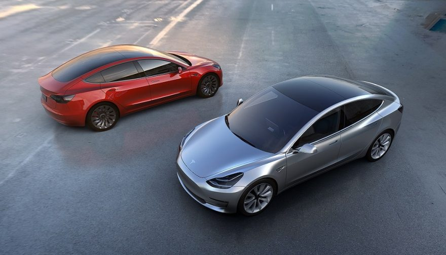 The Tesla Model 3 announcement was a big car news story