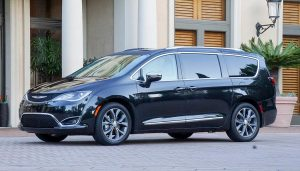 A new Chrysler Pacifica