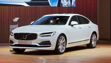 China-made cars, like this Volve S90, are becoming commonplace