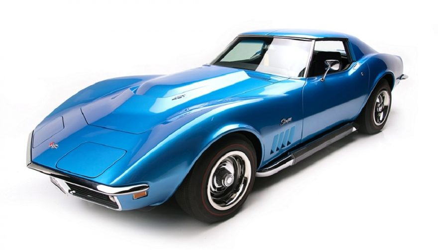 A blue 1969 L88 Corvette will on the block at the Barrett-Jackson auction