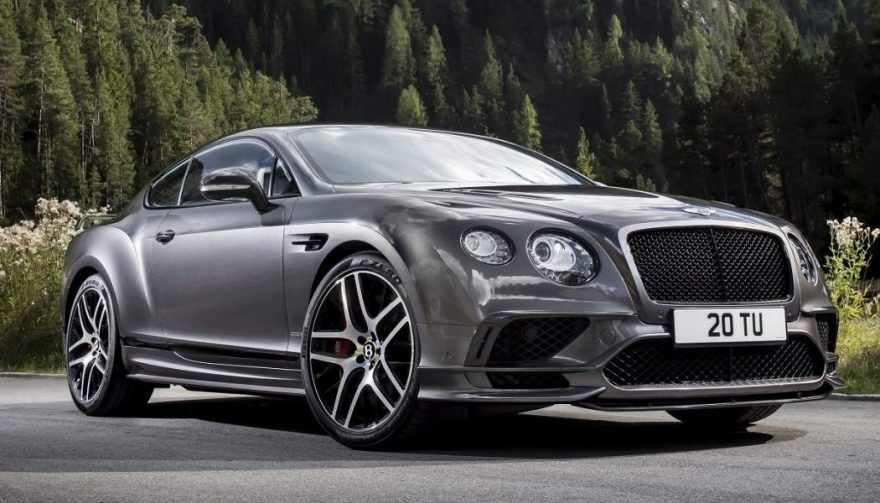 The Bentley Continental Supersports
