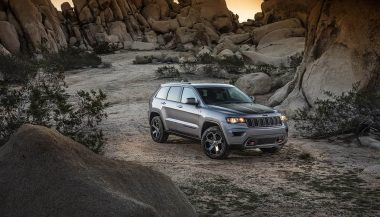 A 2017 Jeep Grand Cherokee Trailhawk