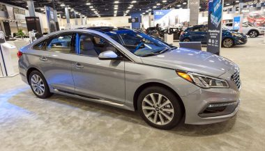 The Hyundai Sonata was one of the bestselling cars of 2016