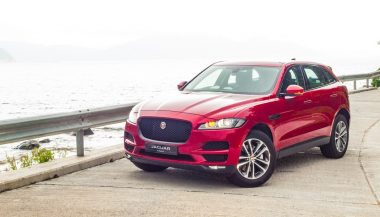 A new Jaguar F-pace shows how sporty an SUV can be