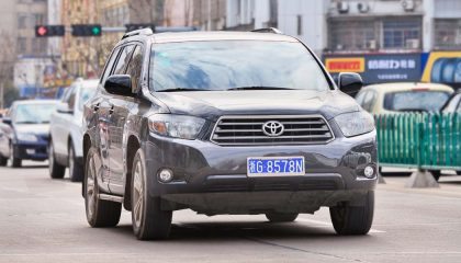 The Toyota Highland was a best setlling SUV in 2016