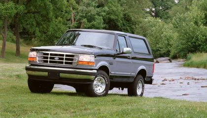 For the new Ford Bronco to succeed, it will need to succeed on the trail like this 1995 Bronco