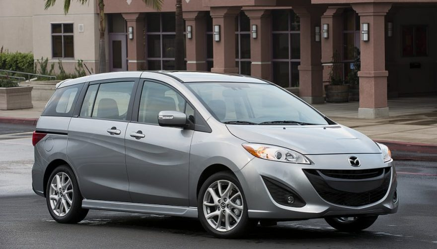 The Mazda5 was one of the bestselling minivans of 2016