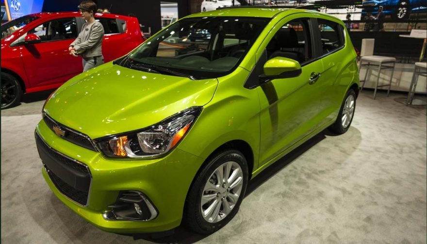 The Chevrolet Spark is one of the cheapest cars of 2017