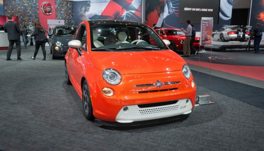 The Fiat 500e is one of the bestselling electric cars of all time