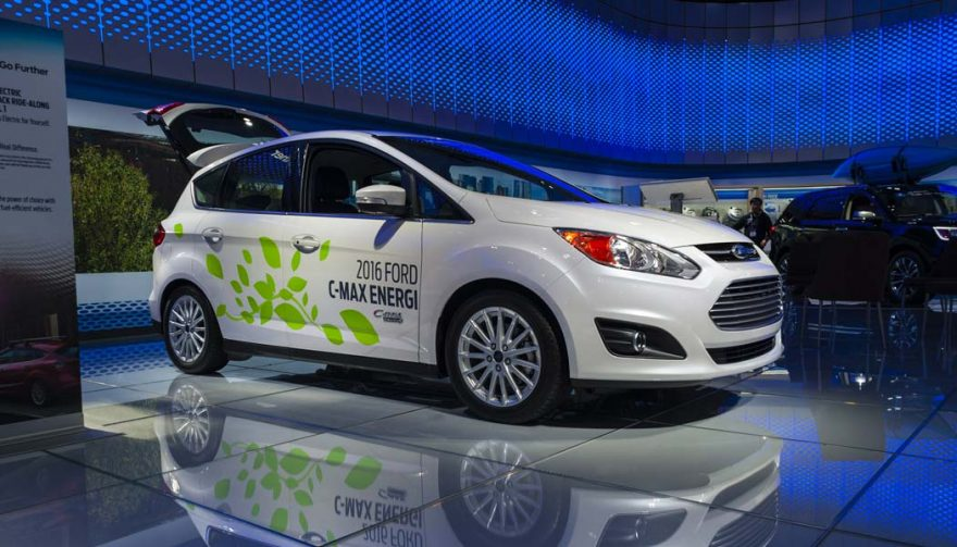 The Ford C-Max Energi is one of the bestselling electric cars of all time
