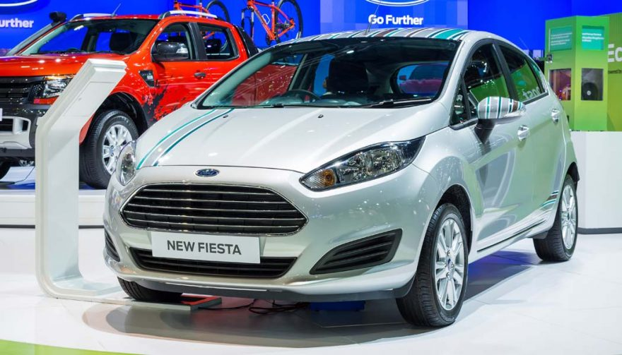 The Ford Fiesta is one of the cheapest cars of 2017