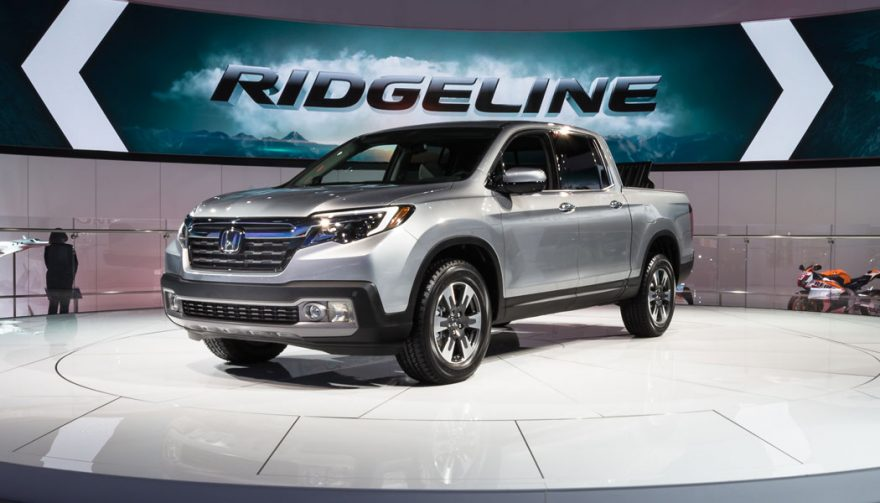 The Honda Ridgeline was one of the bestselling trucks of 2016