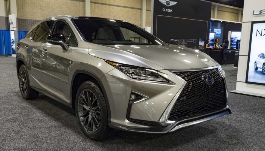The Lexus RX was one of the bestselling luxury cars of 2016