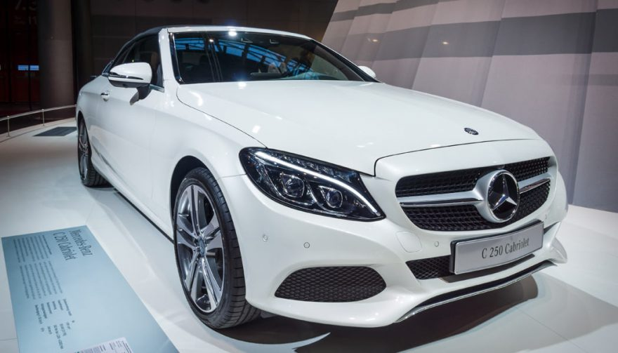 The Mercedes Benz C-Class was one of the bestselling cars of 2016