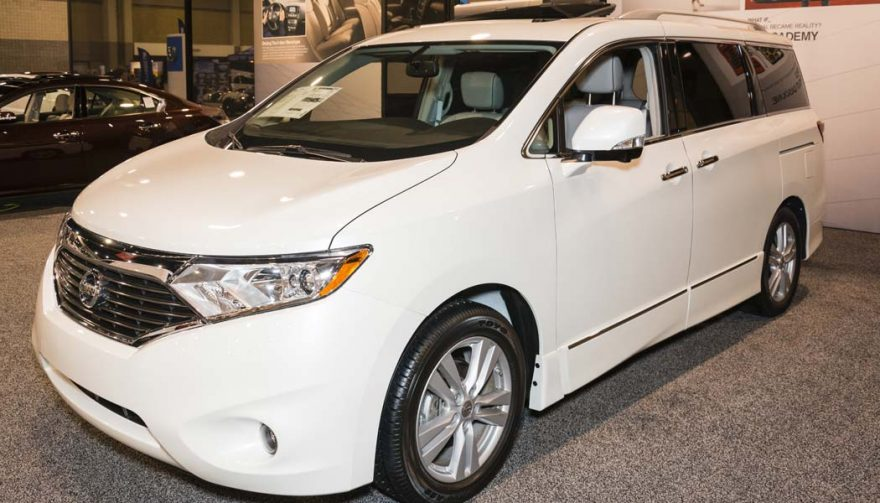 The Nissan Quest was one of the bestselling minivans of 2016
