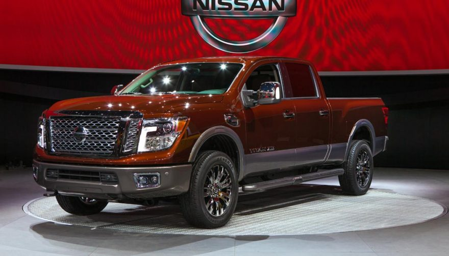 The Nissan Titan was one of the bestselling trucks of 2016