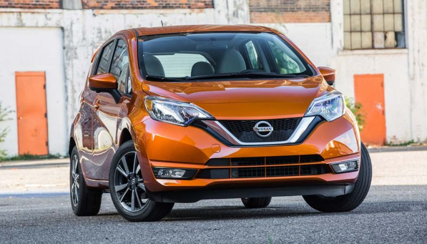 The Nissan Versa Note is one of the cheapest cars of 2017
