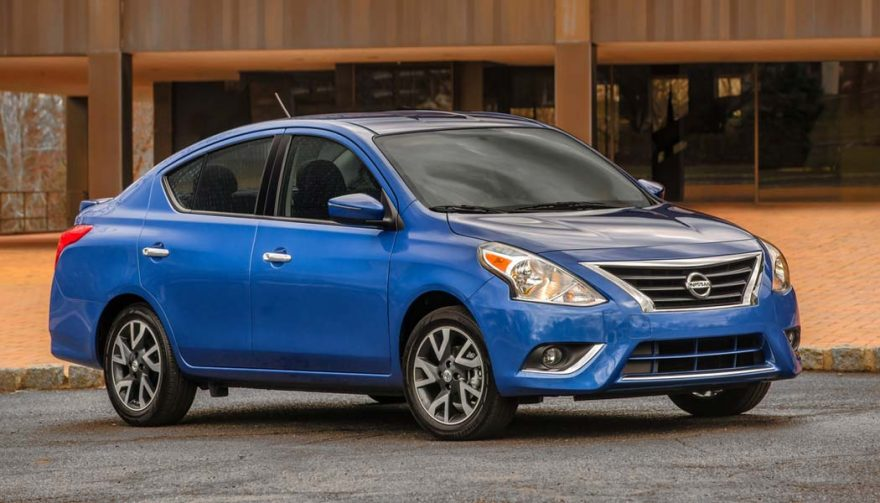 The Nissan Versa Sedan is one of the cheapest cars of 2017