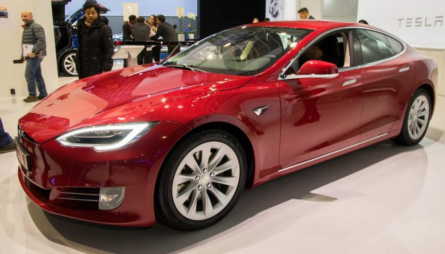 The Tesla Model S is one of the bestselling electric cars of all time