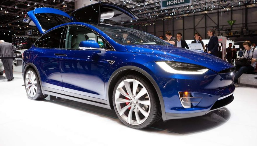 The Tesla Model X is one of the bestselling electric cars of all time