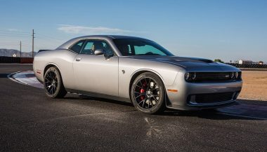 A Dodge Challenger SRT Hellcat looks a lot like a supercar