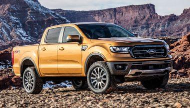 A 2019 Ford Ranger