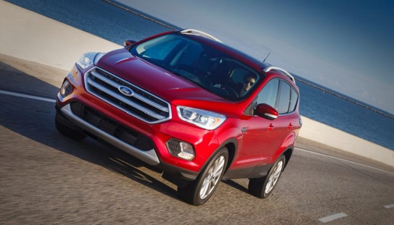 The 2017 Ford Escape has a new front grille