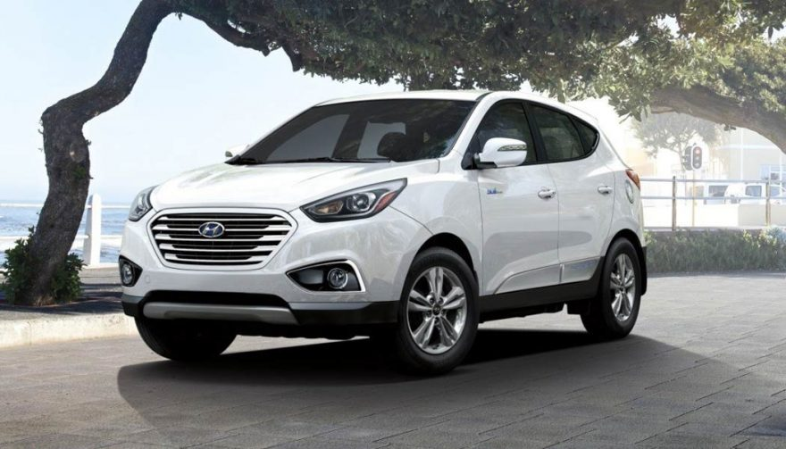 The Hyundai Tucson Fuel Cell is the most fuel efficient SUV