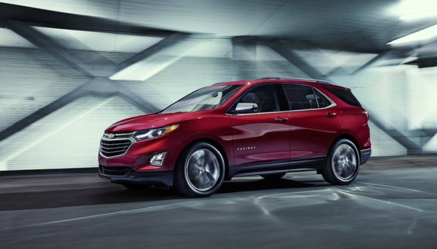 The 2018 Chevrolet Equinox is smaller than its predecessor