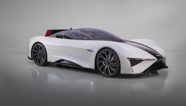Techrules supercar Ren has a unique car design