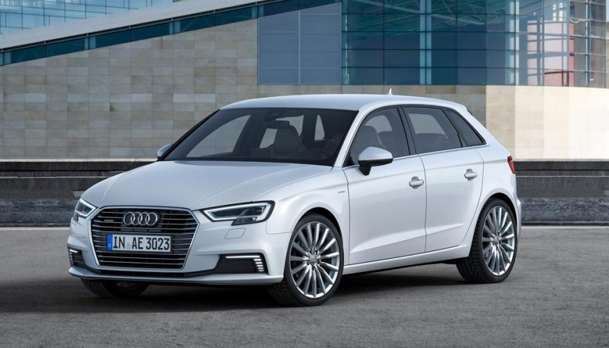 The Audi A3 Sportback e-tron is one of the best luxury hybrid cars